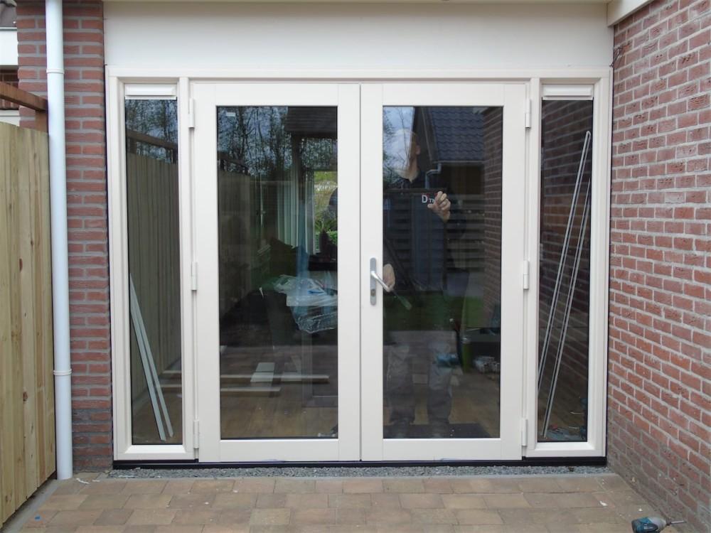 Kunststof Openslaande Deuren : Kunststof deuren voor alle situaties select windows drachten