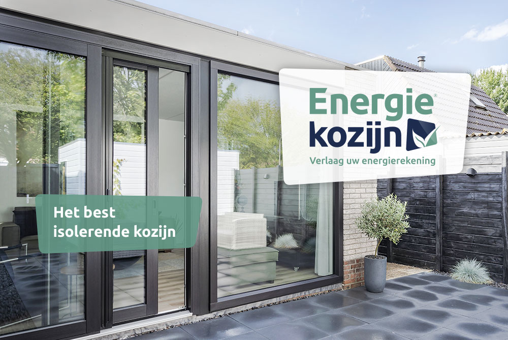 Select Windows Drachten - Kunststof kozijnen - Energie Kozijn slider