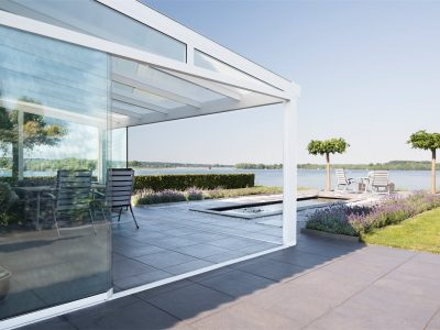 Select Windows Drachten - Pallazzo veranda terrasoverkapping